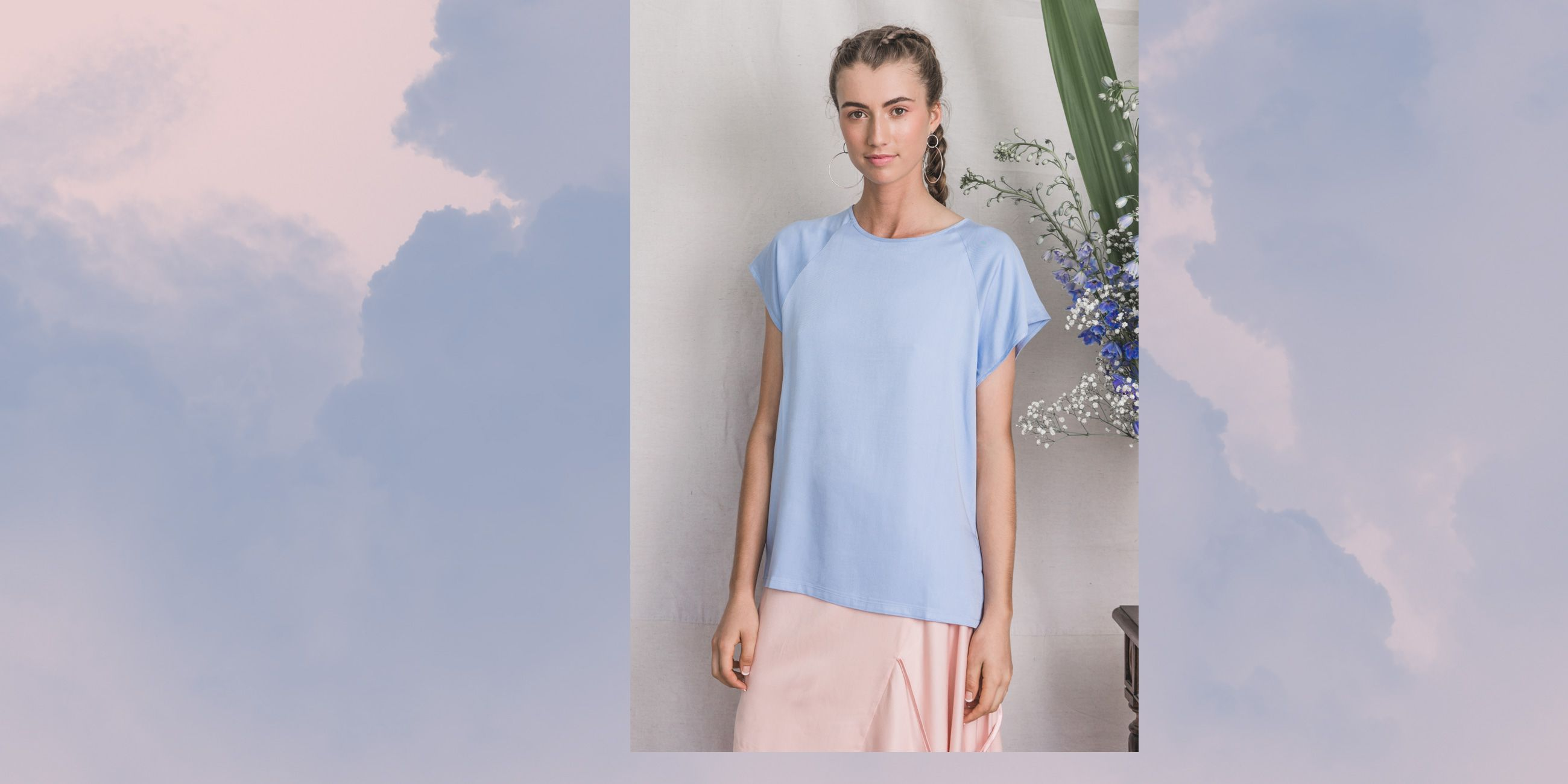 Altair Bamboo Top in Serenity Blue – The Great Beyond 1