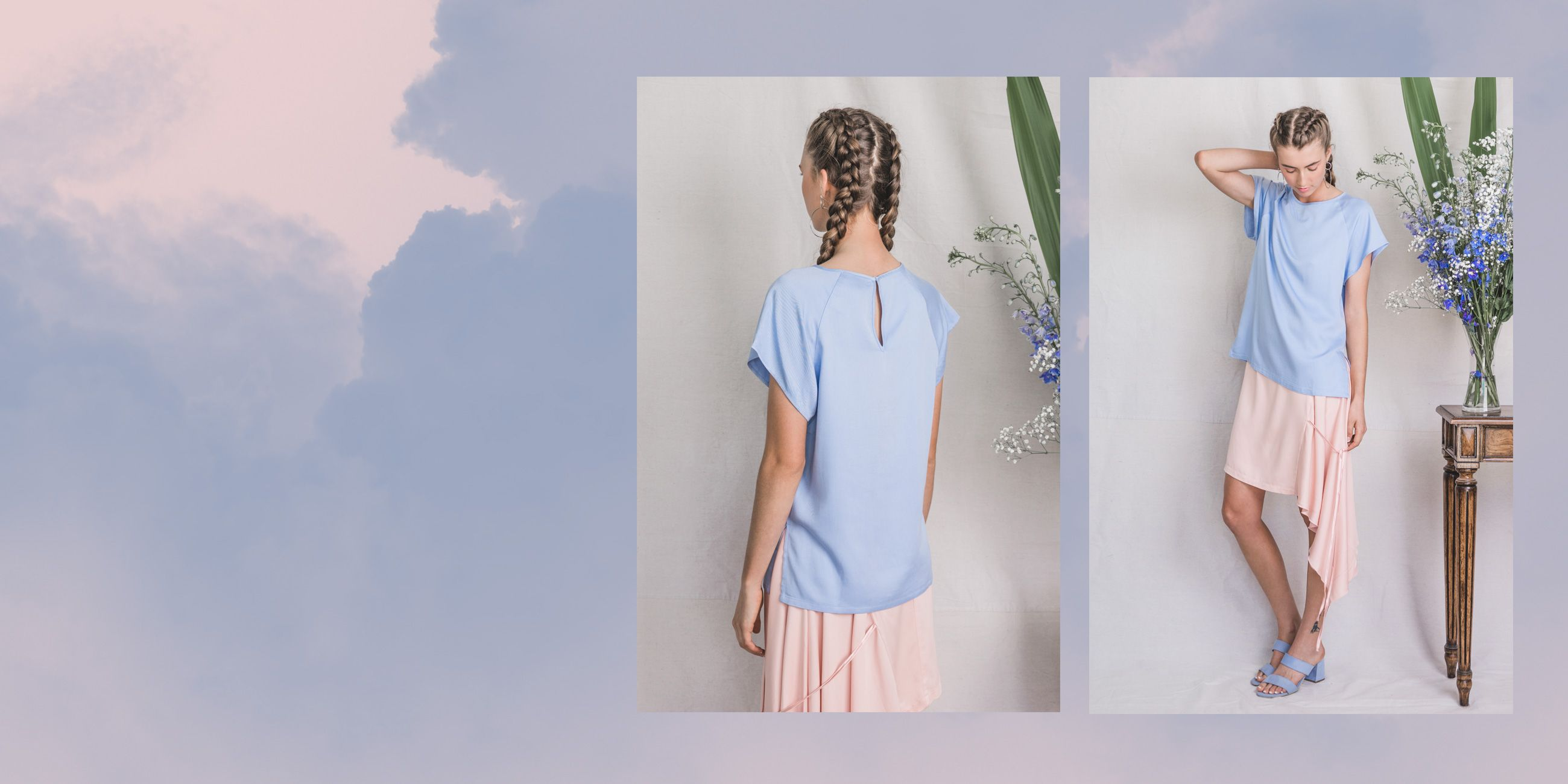 Altair Bamboo Top in Serenity Blue – The Great Beyond 2