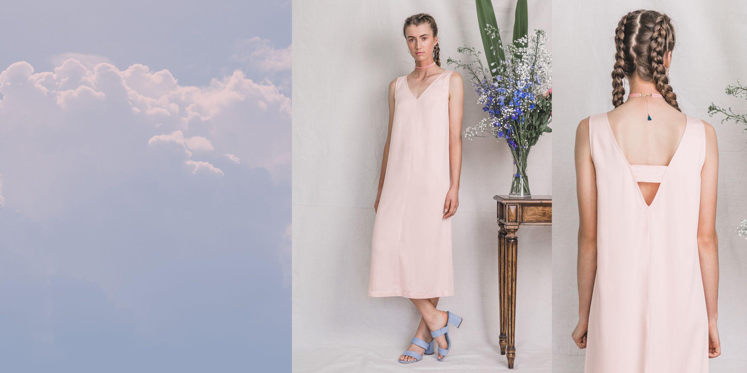 Hydrus Bamboo Dress (Rose Quartz) 3