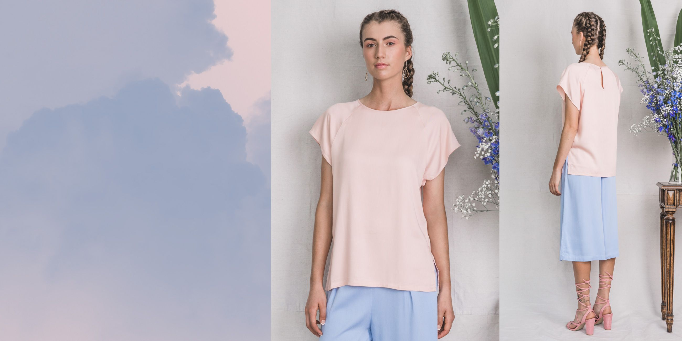 Altair Bamboo Top in Rose Quartz – The Great Beyond 1