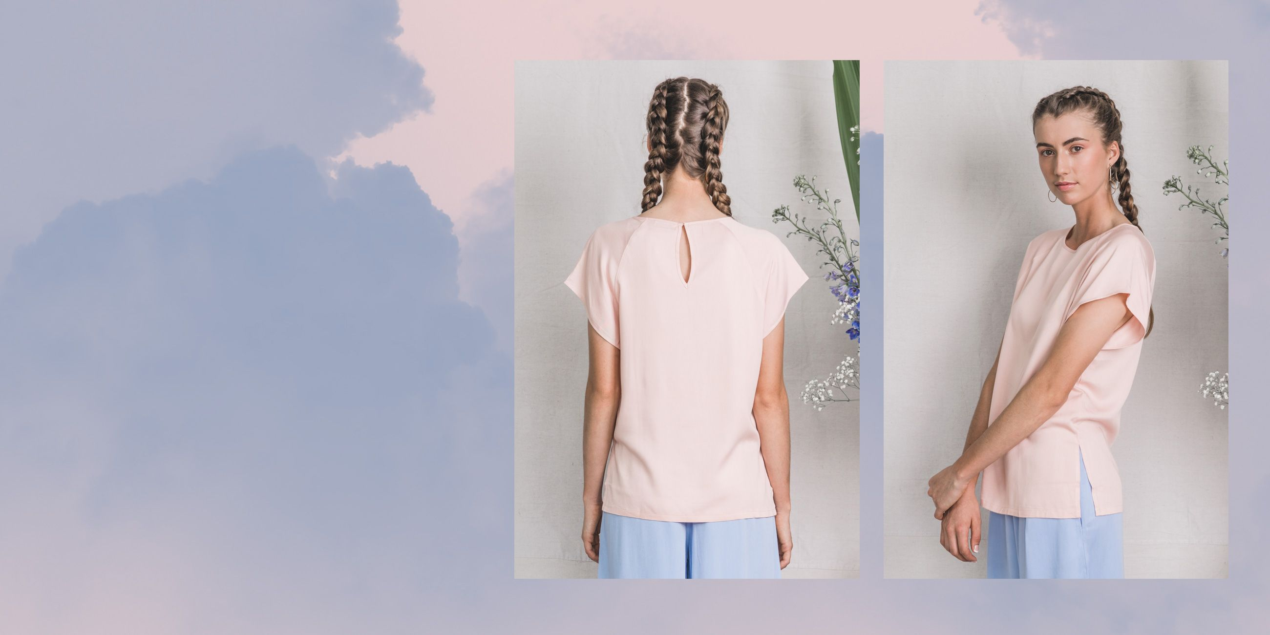 Altair Bamboo Top in Rose Quartz – The Great Beyond 2