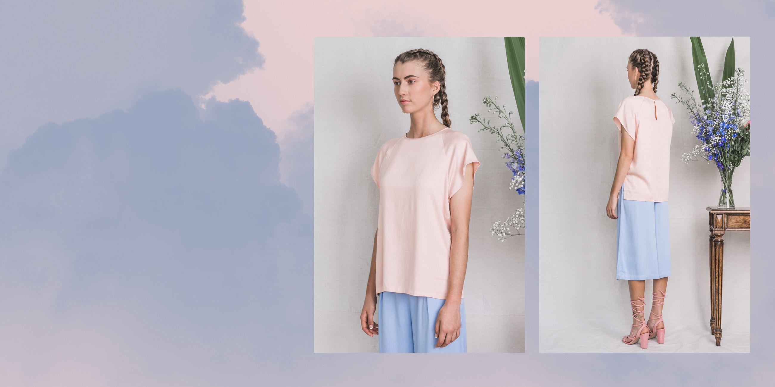 Altair Bamboo Top in Rose Quartz – The Great Beyond 3