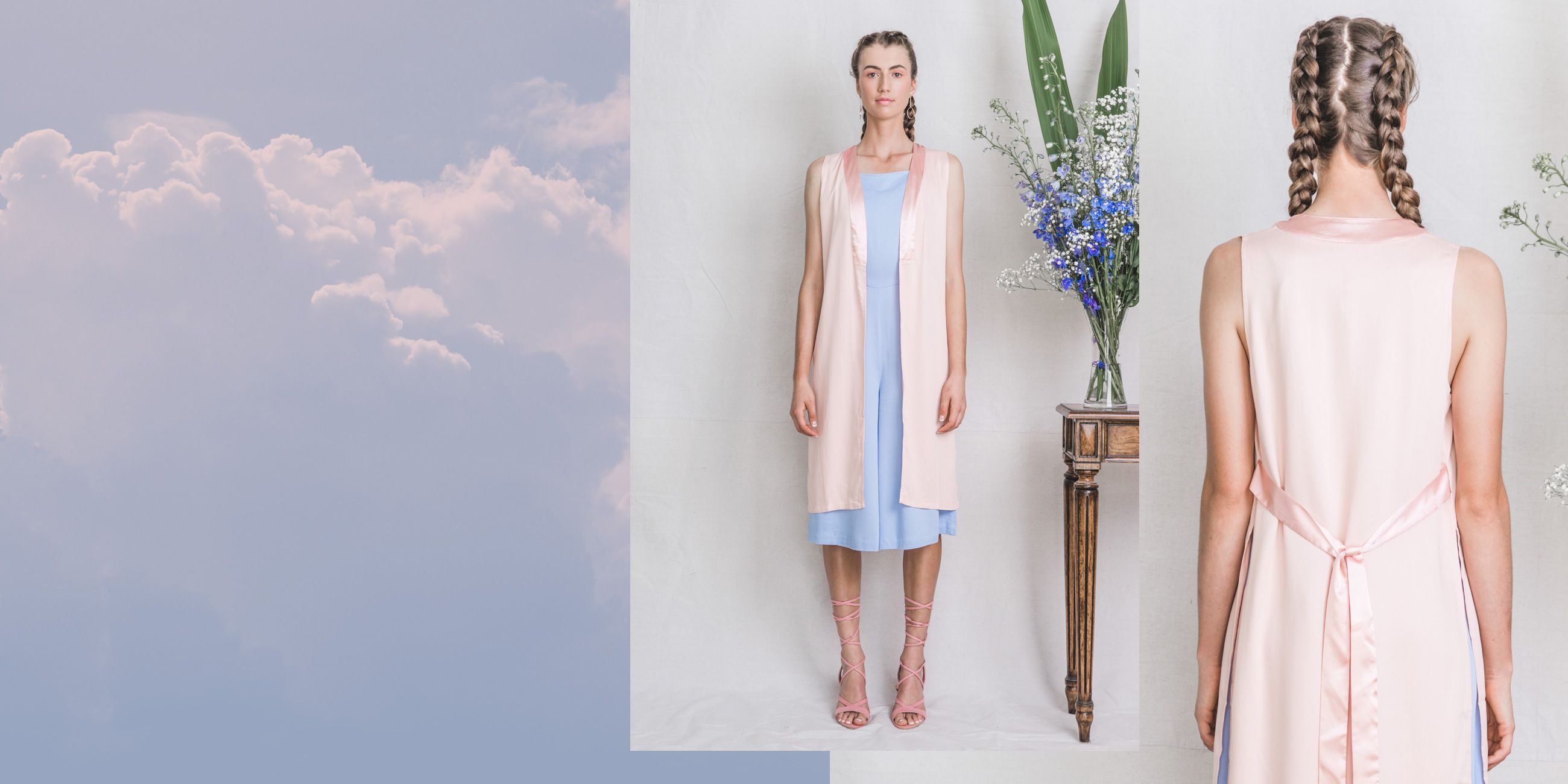 Indus Bamboo Vest Rose Quartz – The Great Beyond 1
