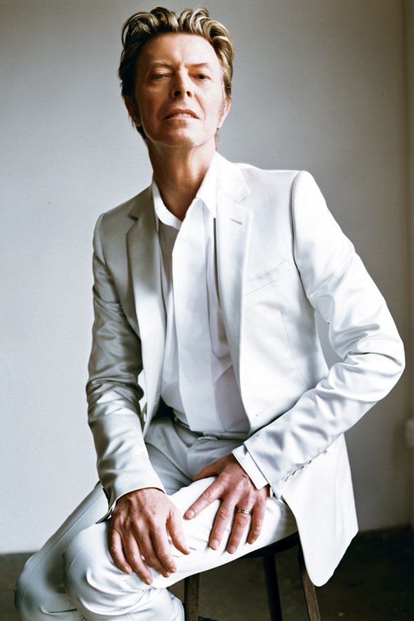 David Bowie By Mario Testino, 2013 Source: Voxsartoria