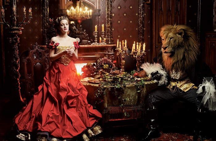Disney Dream Portrait by Annie Leibovitz with Drew Barrymore Source: iloboyou