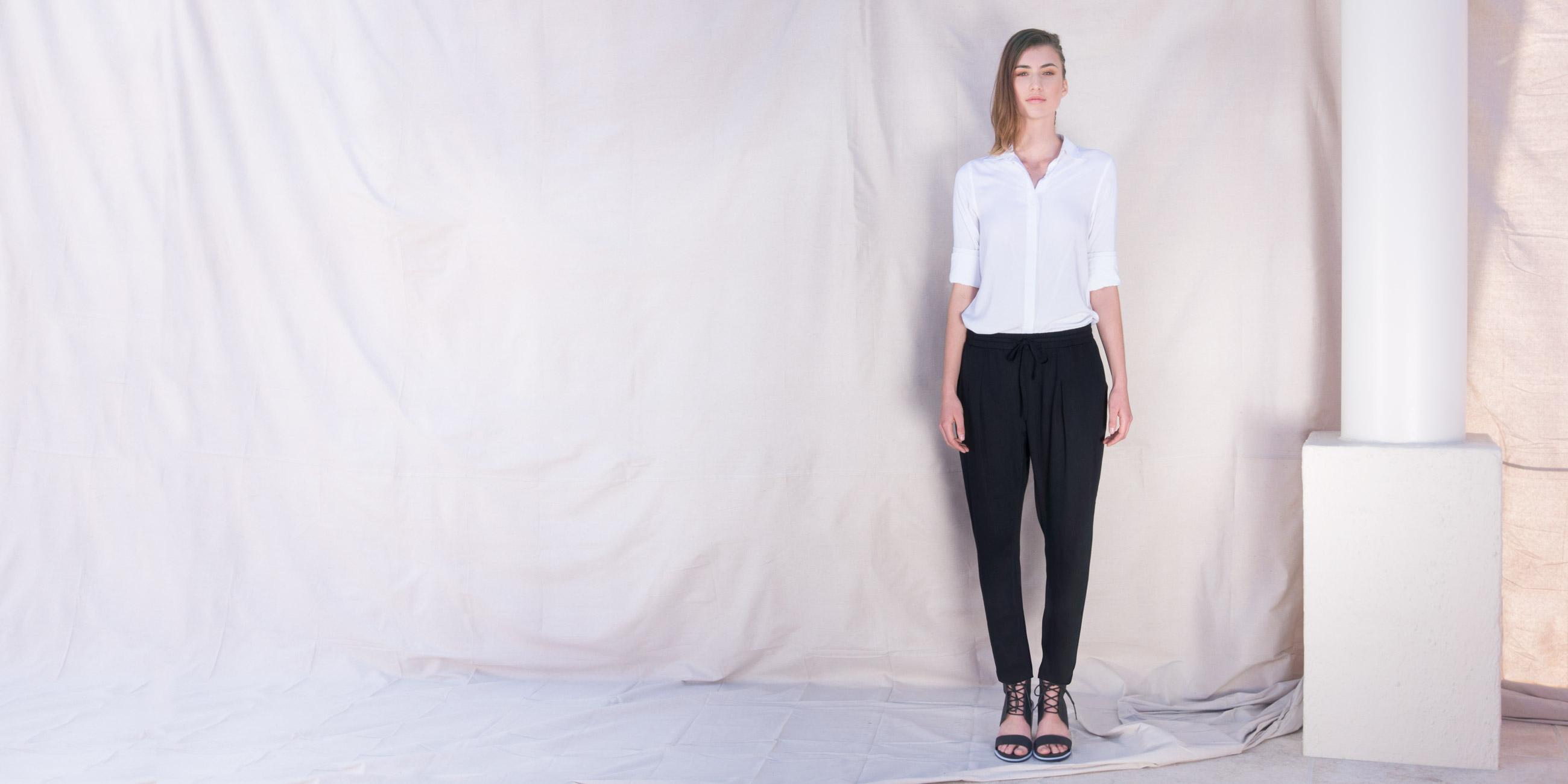 Orbit Collection Bamboo Clothing Portia Pants Black 0